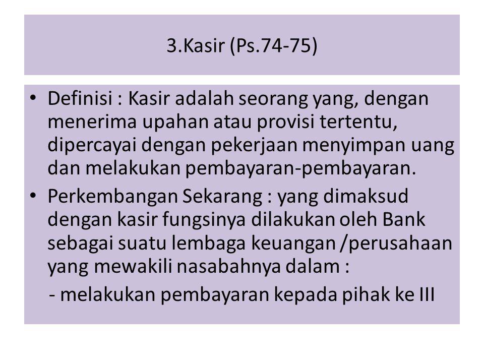 3.Kasir (Ps.74-75)