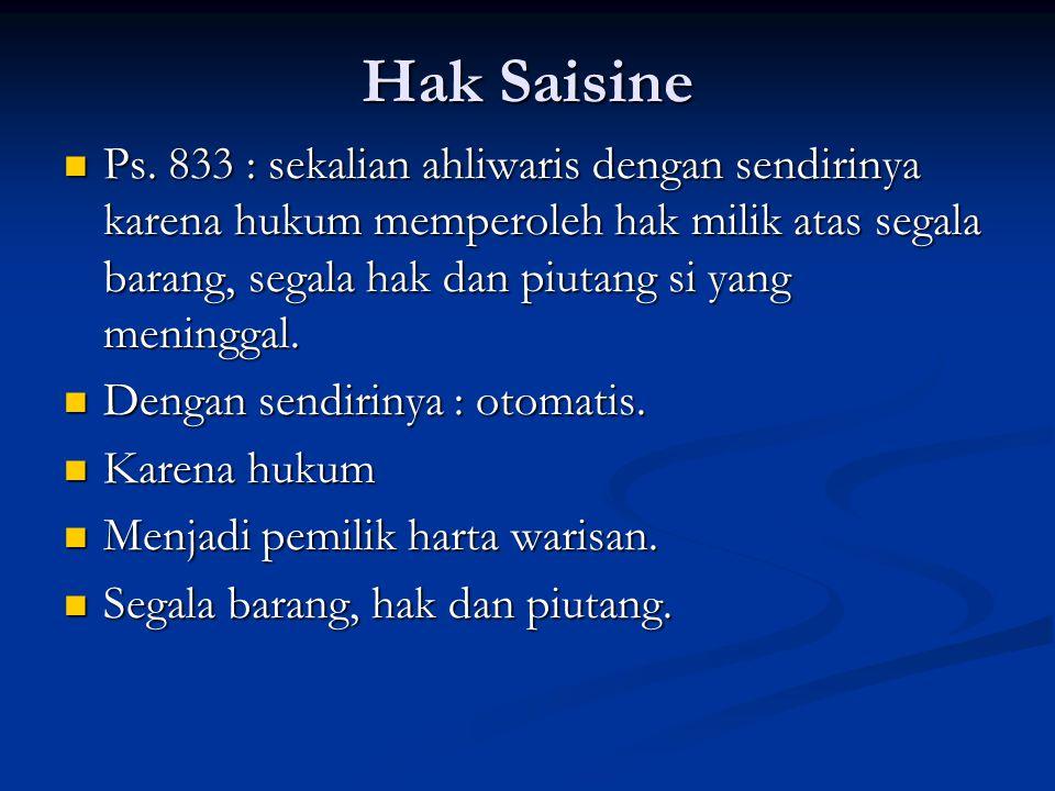 Hak Saisine