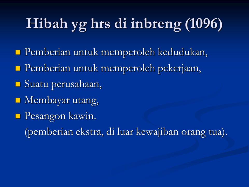 Hibah yg hrs di inbreng (1096)