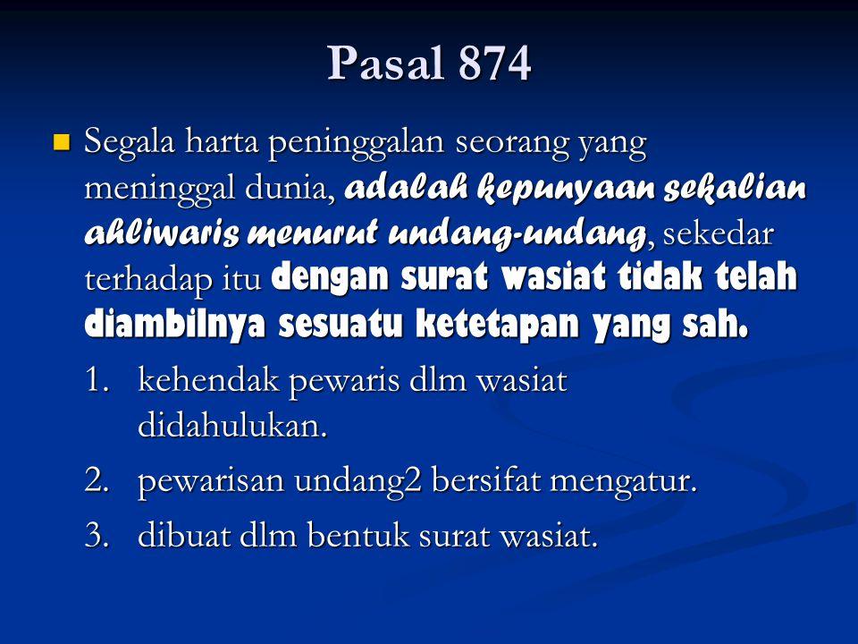 Pasal 874