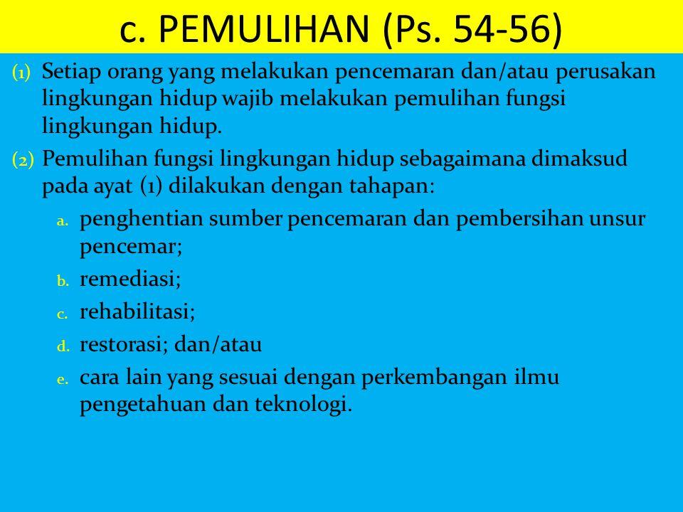 c. PEMULIHAN (Ps. 54-56)