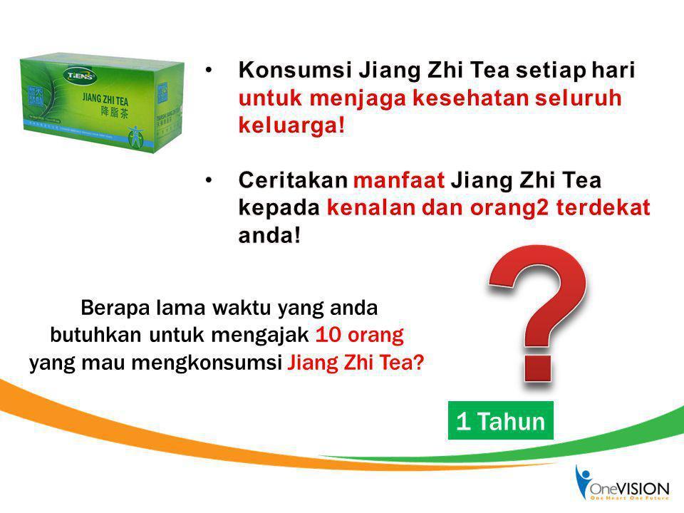 Konsumsi Jiang Zhi Tea setiap hari untuk menjaga kesehatan seluruh keluarga!