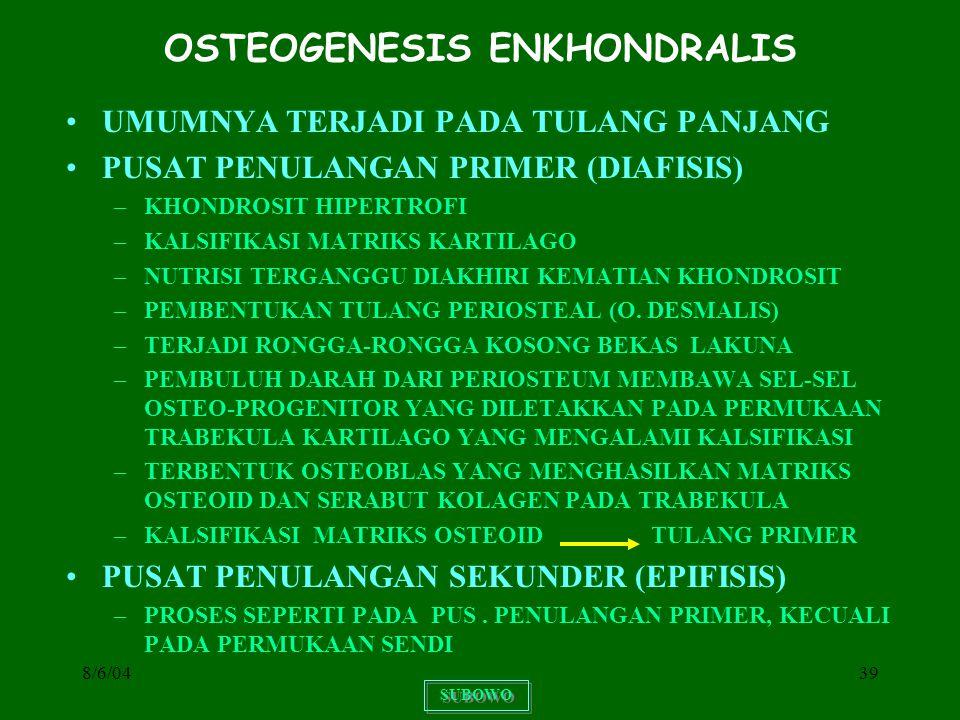 OSTEOGENESIS ENKHONDRALIS