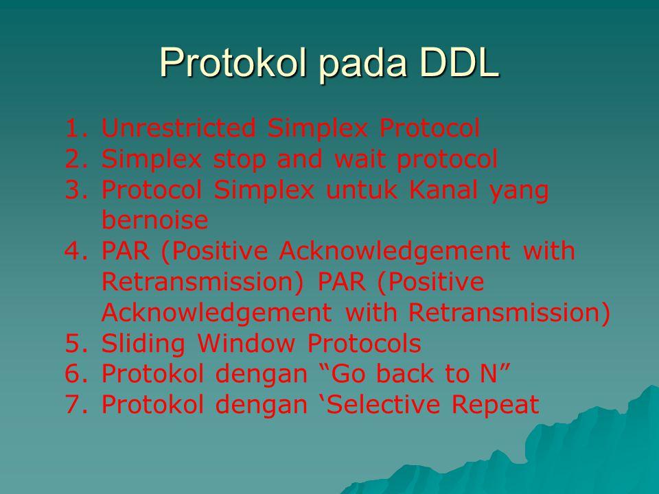 Protokol pada DDL Unrestricted Simplex Protocol