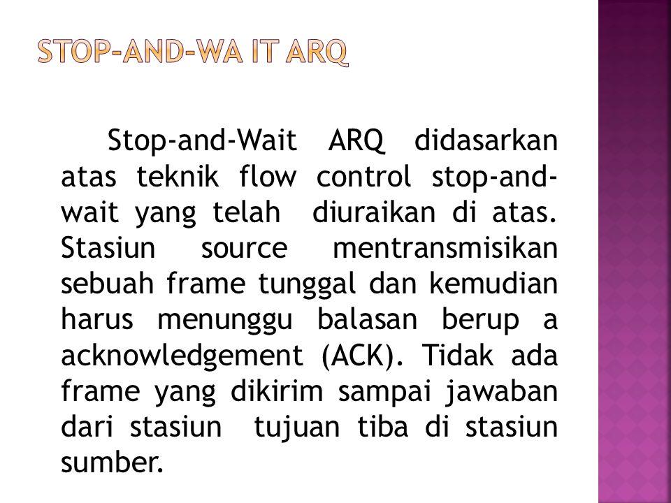 Stop-and-Wa it ARQ