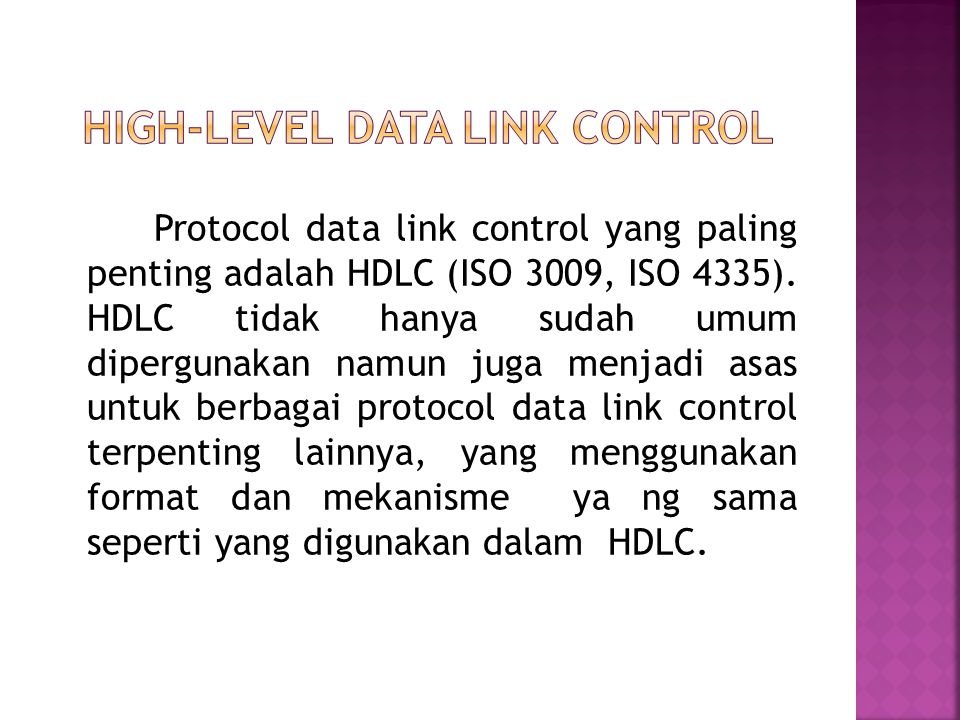 High-Level Data Link Control