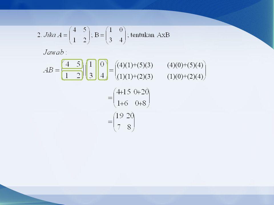 (4)(1)+(5)(3) (4)(0)+(5)(4) (1)(1)+(2)(3) (1)(0)+(2)(4)