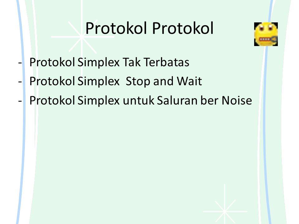 Protokol Protokol Protokol Simplex Tak Terbatas