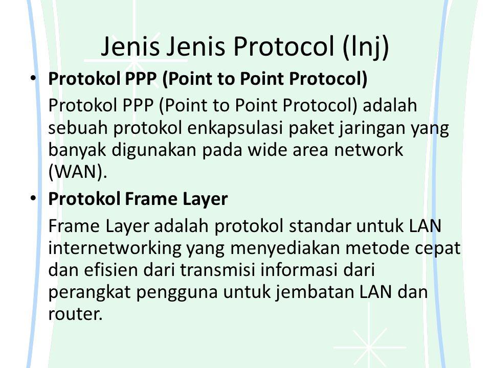 Jenis Jenis Protocol (lnj)