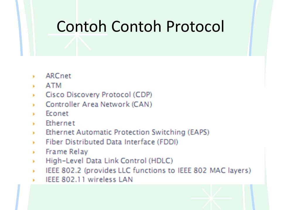 Contoh Contoh Protocol