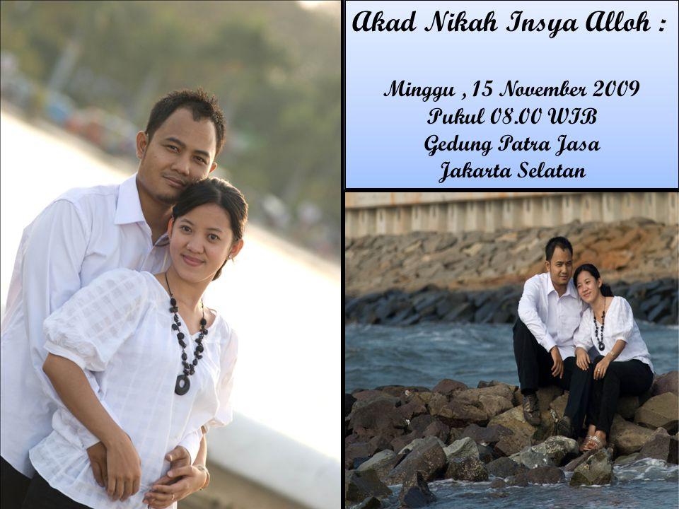 Akad Nikah Insya Alloh :