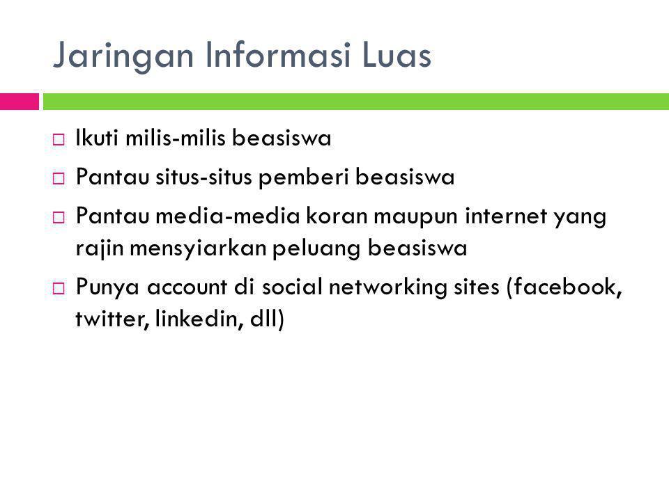Jaringan Informasi Luas