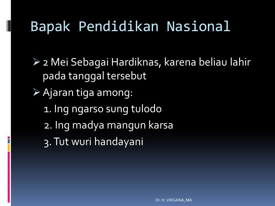Bapak Pendidikan Nasional