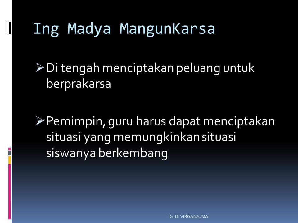Ing Madya MangunKarsa Di tengah menciptakan peluang untuk berprakarsa