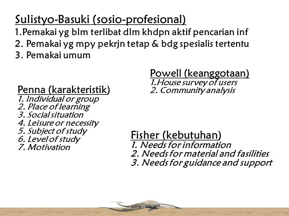 Sulistyo-Basuki (sosio-profesional) 1
