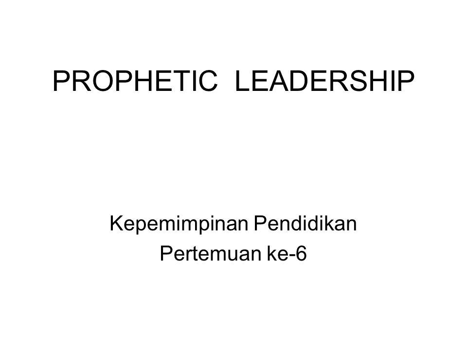 Kepemimpinan Pendidikan Pertemuan ke-6