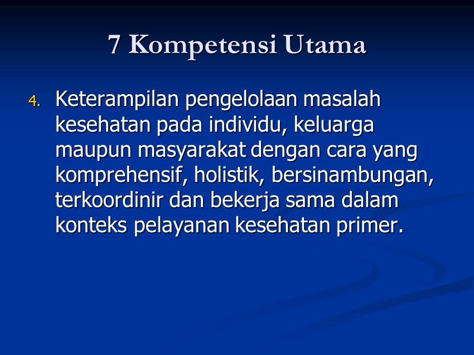 7 Kompetensi Utama