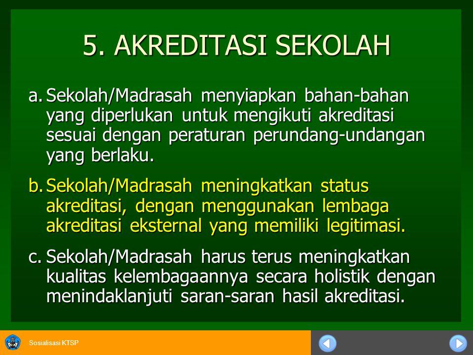 5. AKREDITASI SEKOLAH