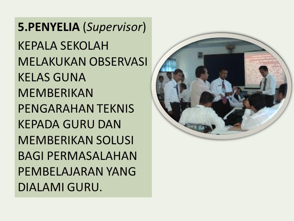 5.PENYELIA (Supervisor)