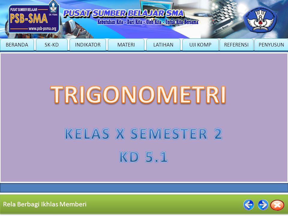 TRIGONOMETRI KELAS X SEMESTER 2 KD 5.1