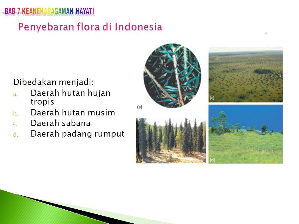 Penyebaran flora di Indonesia