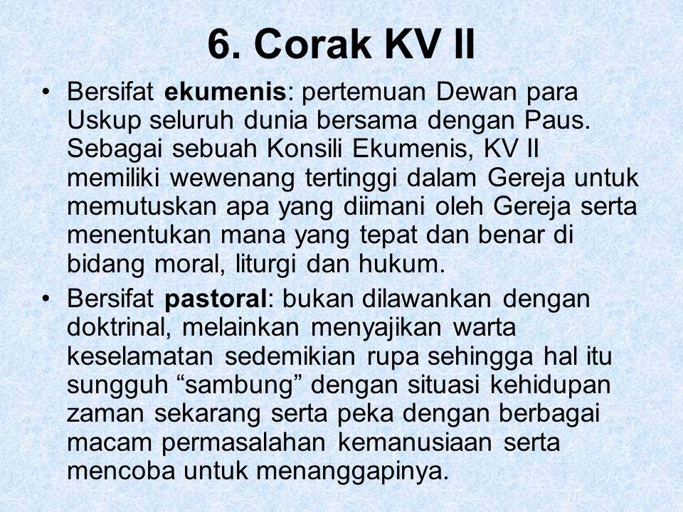 6. Corak KV II