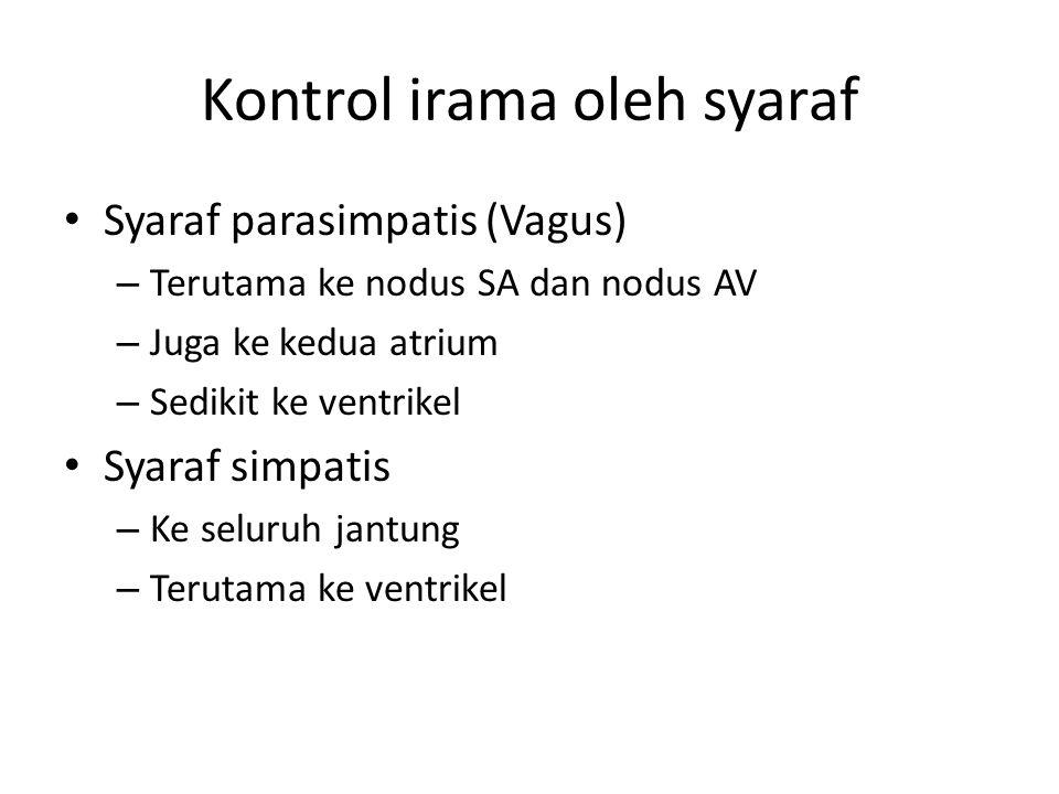 Kontrol irama oleh syaraf
