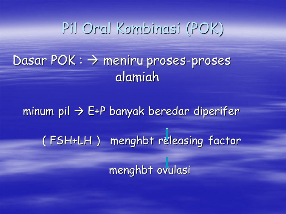 Pil Oral Kombinasi (POK)