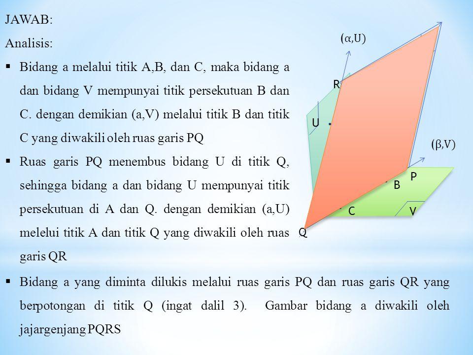 JAWAB: Analisis: