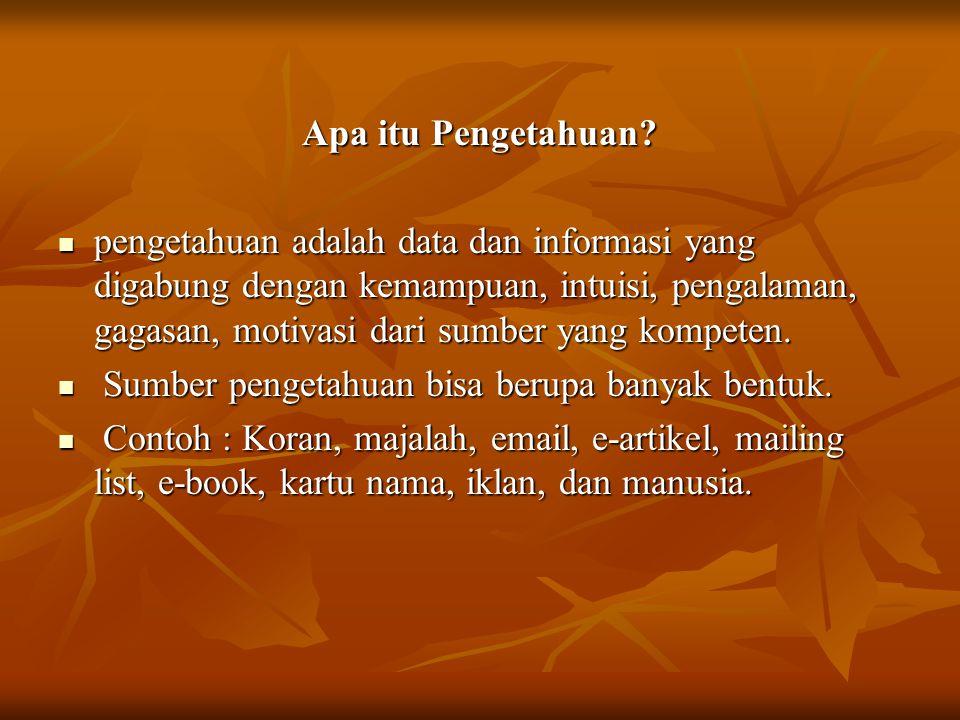 Apa itu Pengetahuan