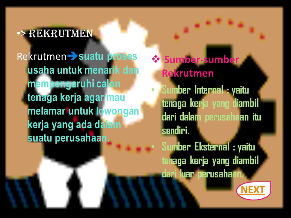 > Rekrutmen