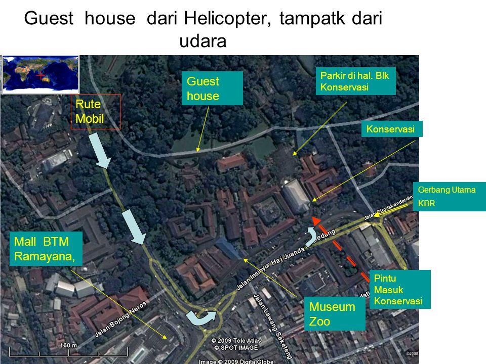 Guest house dari Helicopter, tampatk dari udara