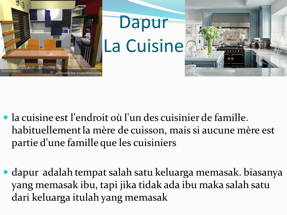 Dapur La Cuisine