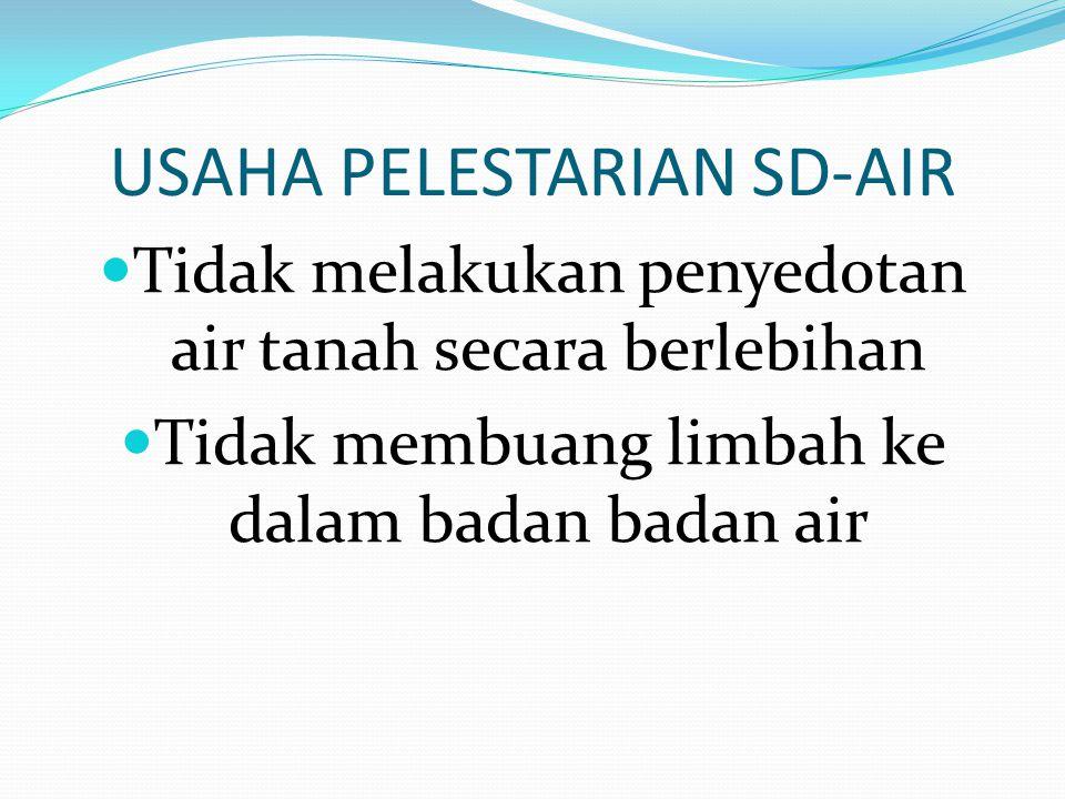 USAHA PELESTARIAN SD-AIR