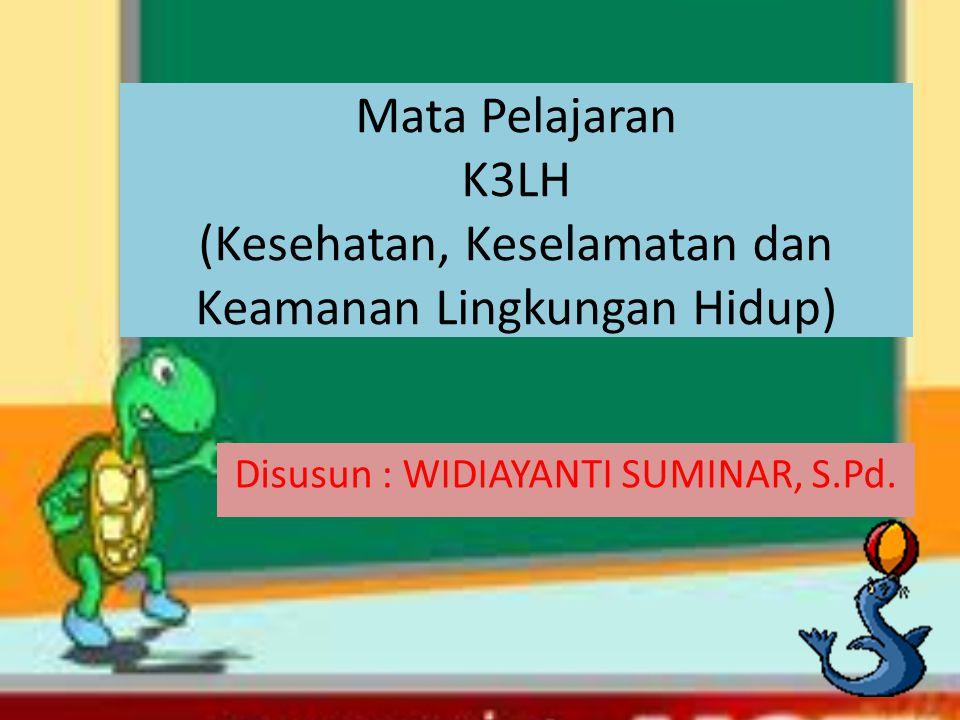 Disusun : WIDIAYANTI SUMINAR, S.Pd.