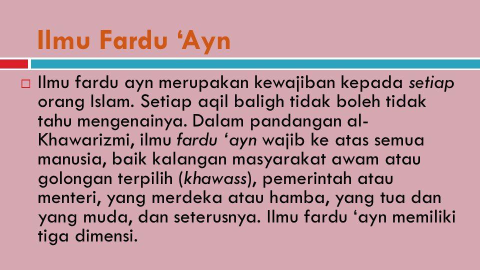 Ilmu Fardu 'Ayn