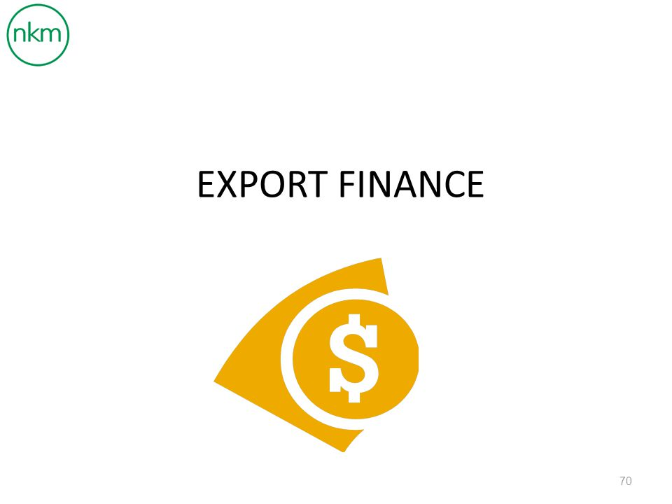 export finance A trade finance loan is an advance denominated in either domestic currency or the foreign currency of the payment obligation, enabling exporters/importers to finance their trade commitments on a transactional basis.