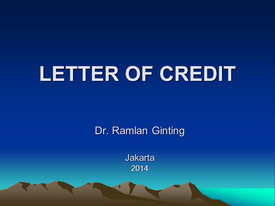 Dr. Ramlan Ginting Jakarta 2014