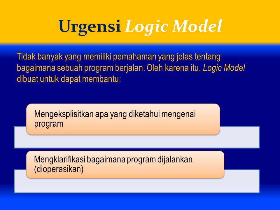 Urgensi Logic Model