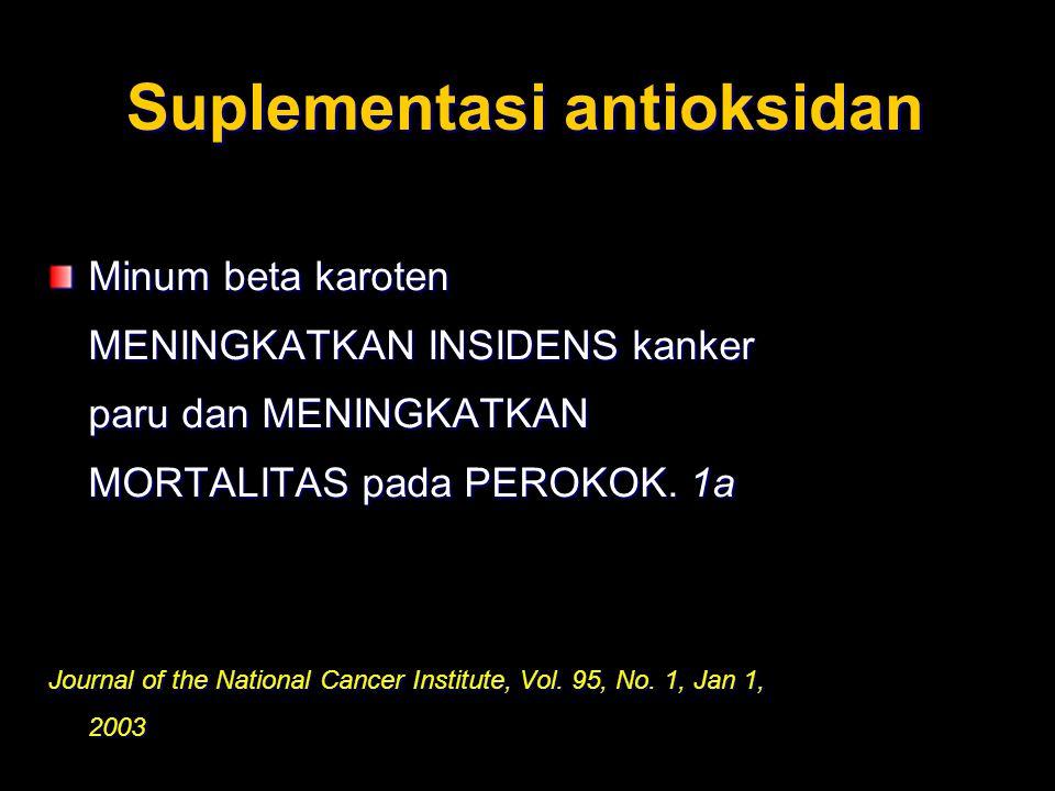 Suplementasi antioksidan