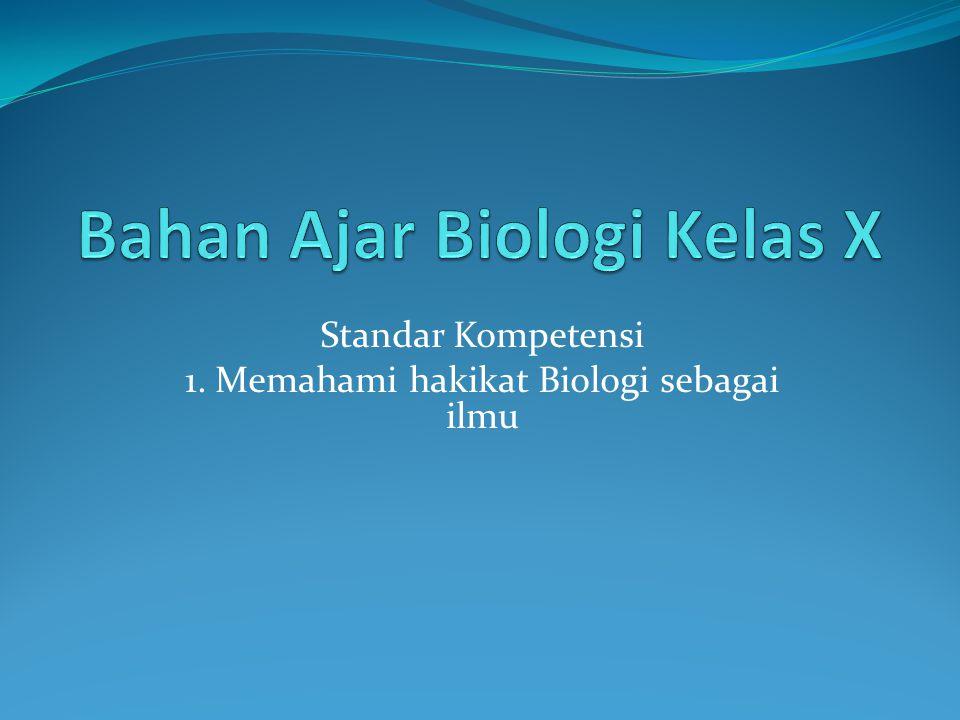 Bahan Ajar Biologi Kelas X