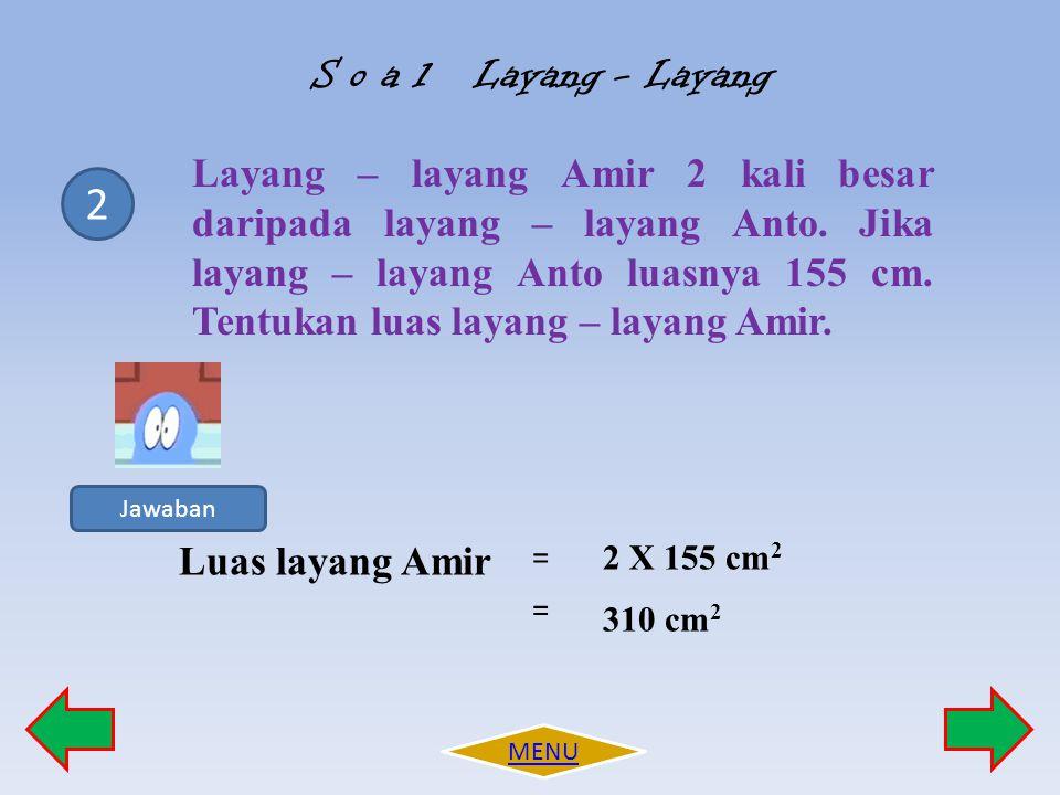 S o a l Layang - Layang