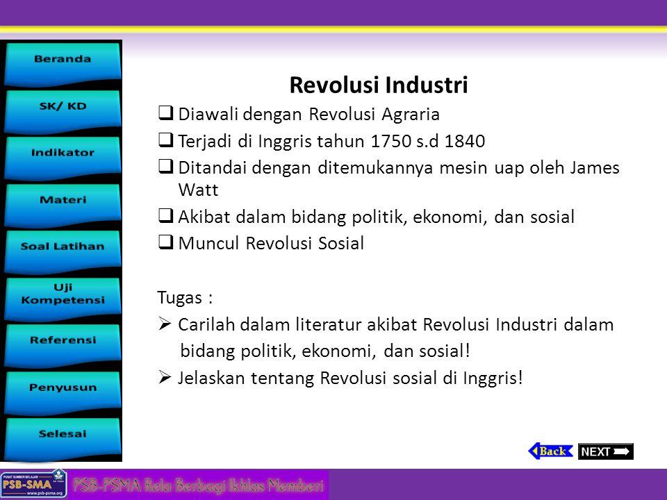 Revolusi Industri Diawali dengan Revolusi Agraria