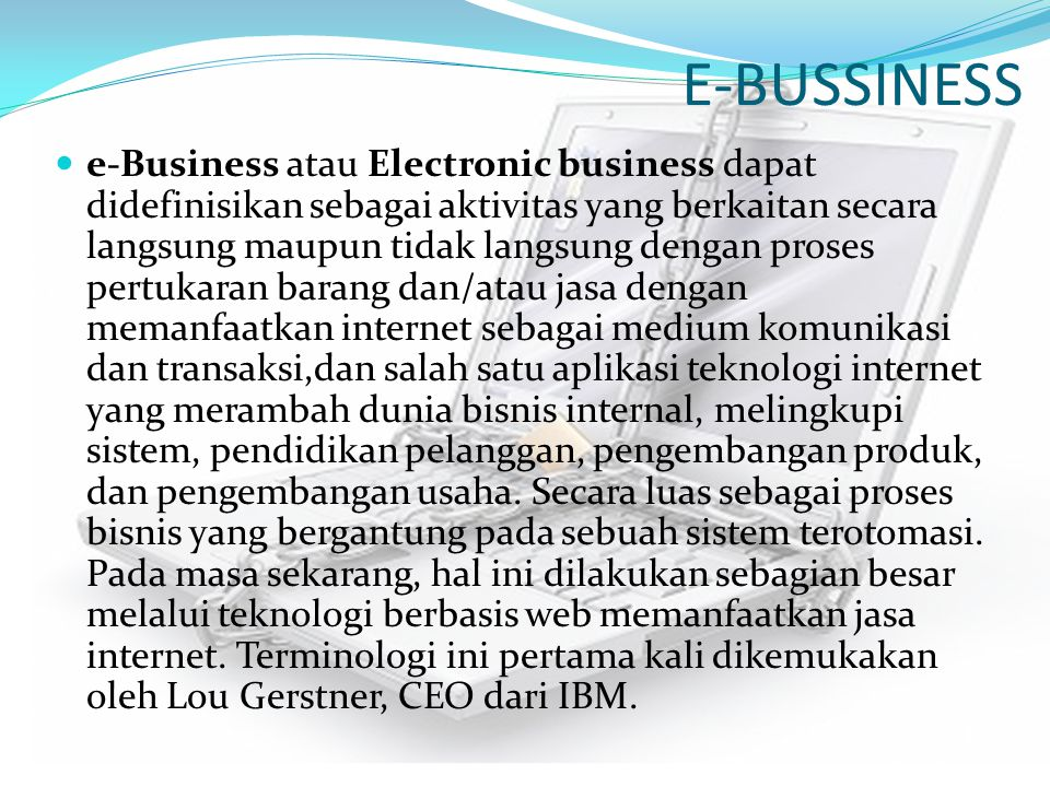 E-BUSSINESS