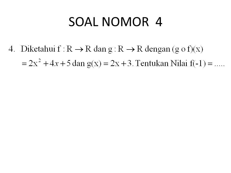 SOAL NOMOR 4