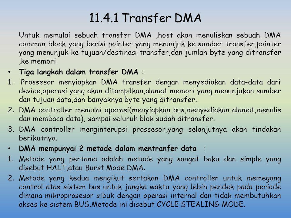 11.4.1 Transfer DMA
