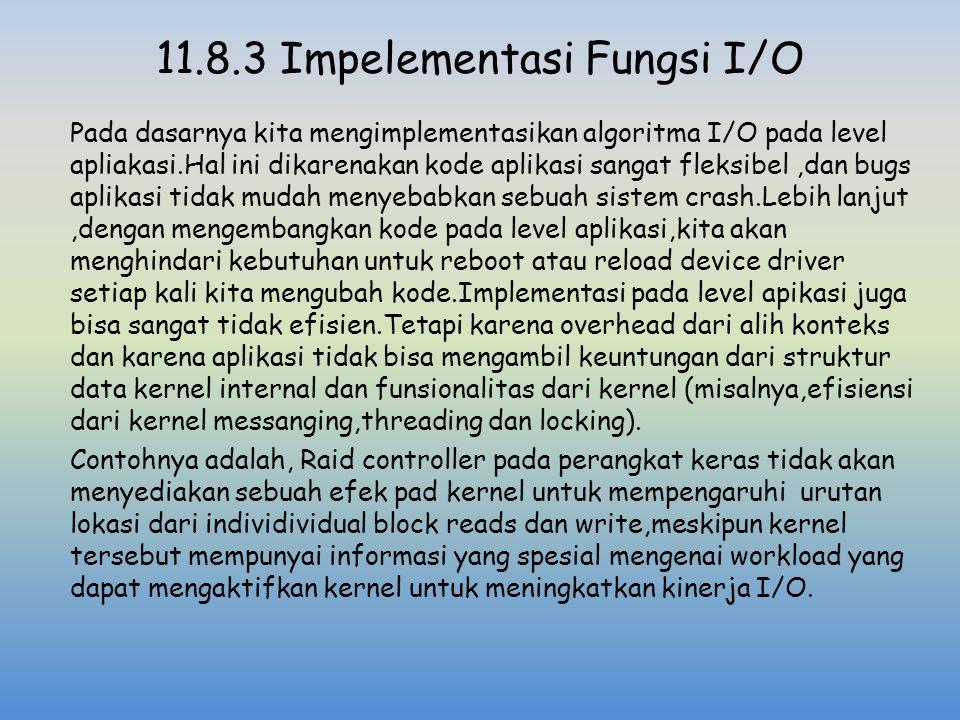 11.8.3 Impelementasi Fungsi I/O