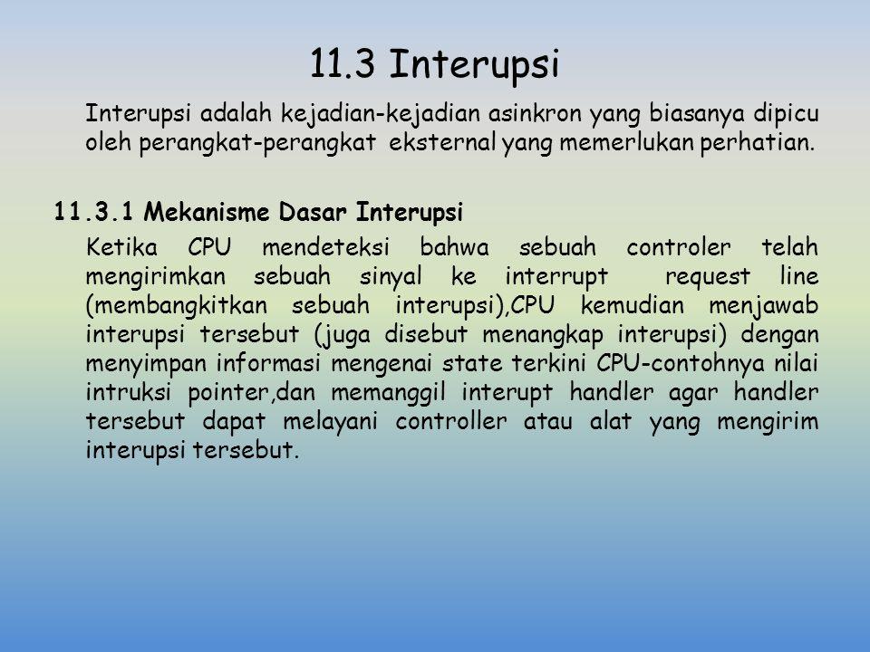 11.3 Interupsi