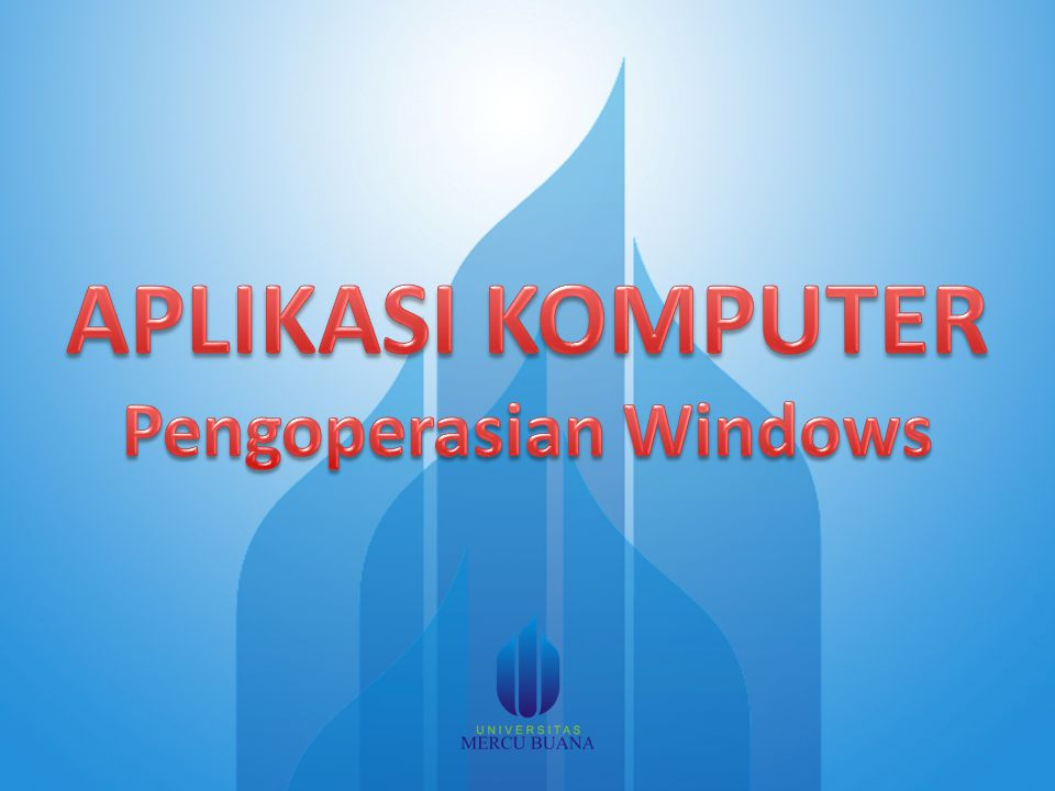 Pengoperasian Windows