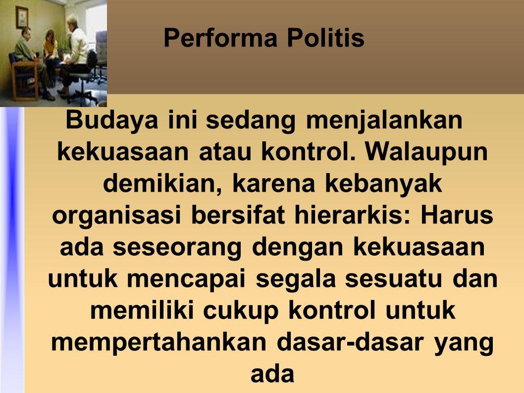 Performa Politis